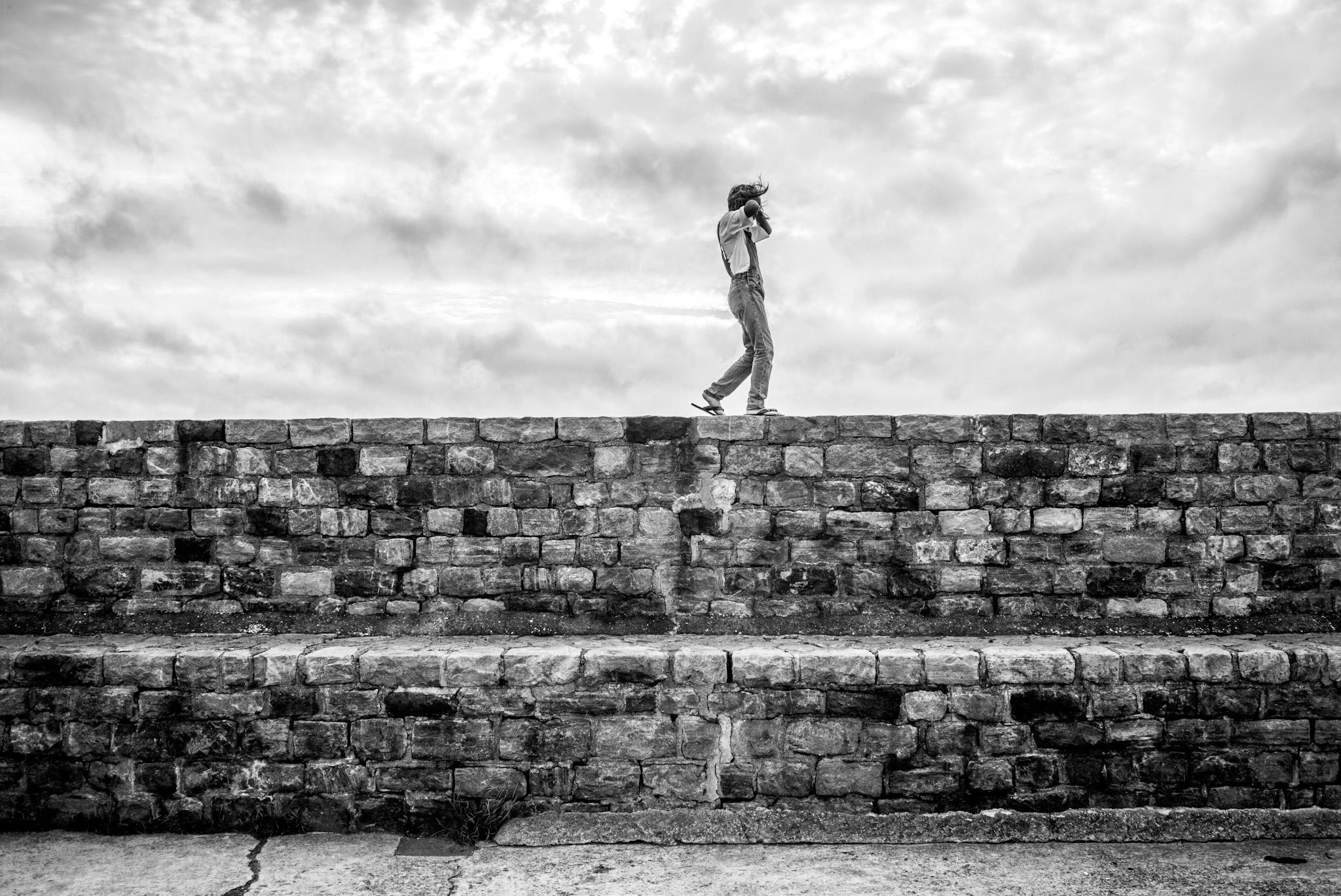 Le mur à pied