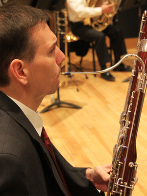 LSO Bassoon Player