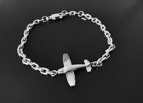 Bracelet chaine DR400 argent 925