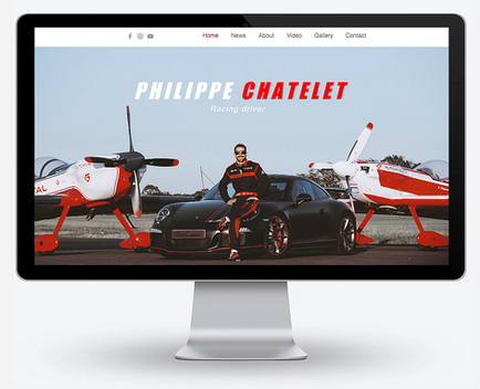 Site web pilote automobile
