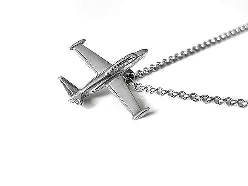 Silver Fouga necklace