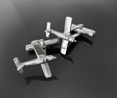 925 silver Archer cufflinks