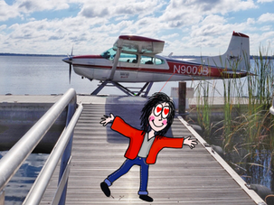 Hydravion à Tavares, Floride