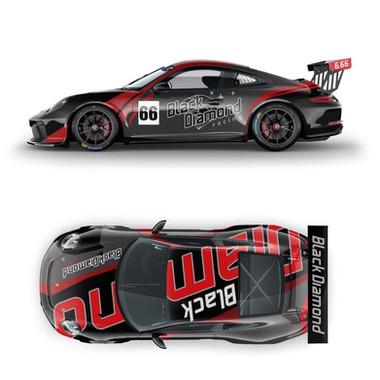 Design covering total Porsche Cup 911 GT3