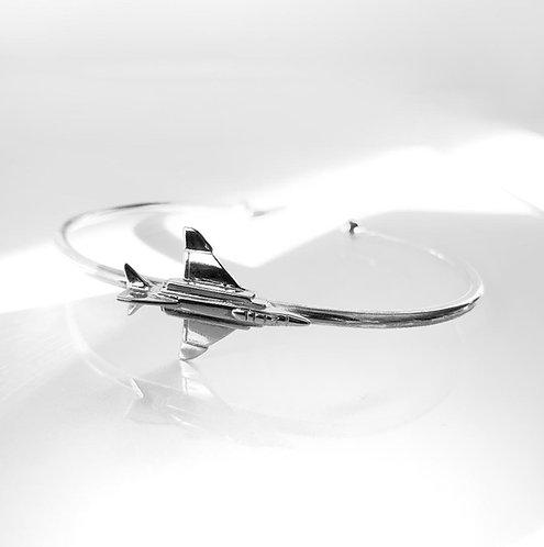 F4 Phantom sterling silver bracelet