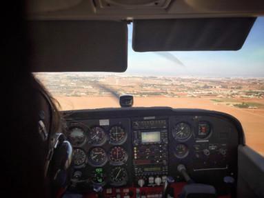 Tour de Casablanca en Cessna