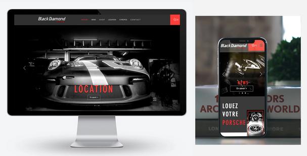 Boutique en ligne Black Diamond Racing