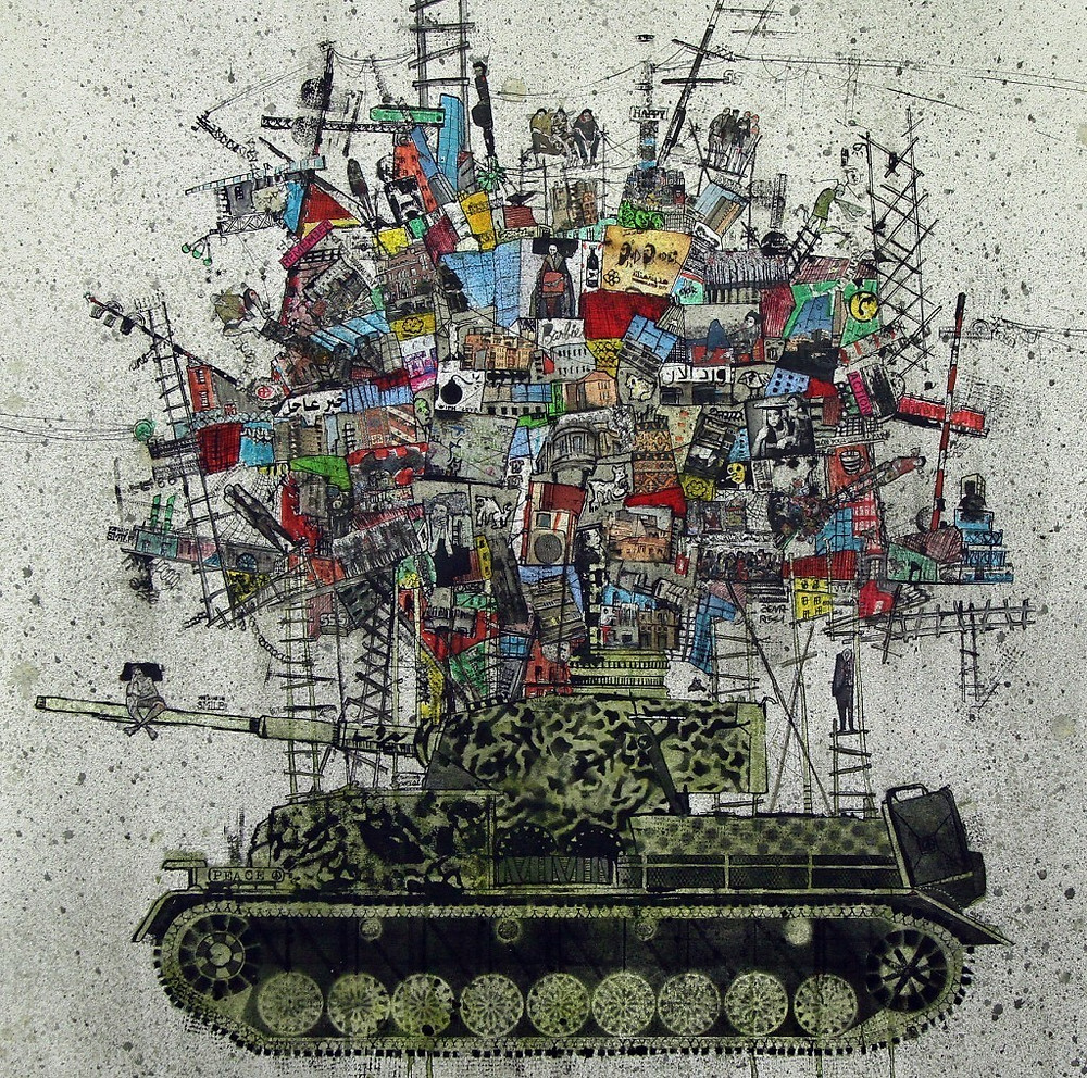My City on a Tank by Zena Assi