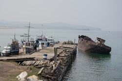 Pier in Khuzhir