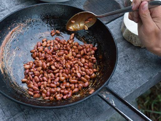Korean peanuts