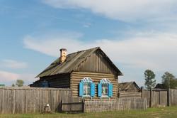 Siberian wooden houses
