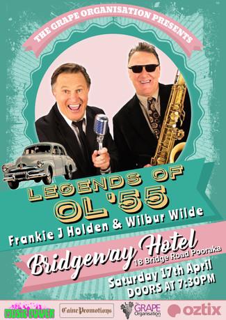 Frankie J Holden and Wilbur Wilde Poster