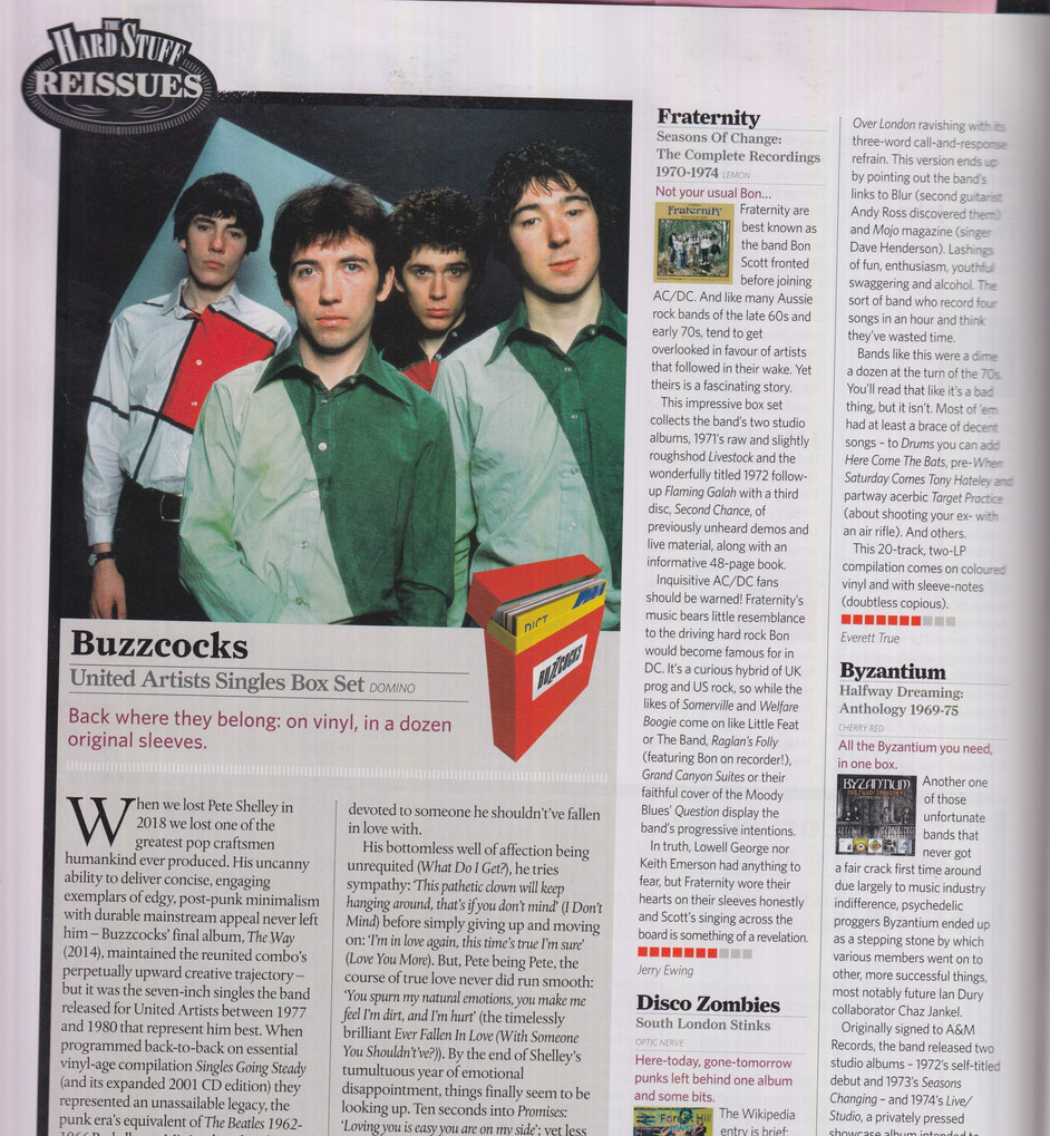 Classic Rock #285 -  Fraternity, Byzanti Review