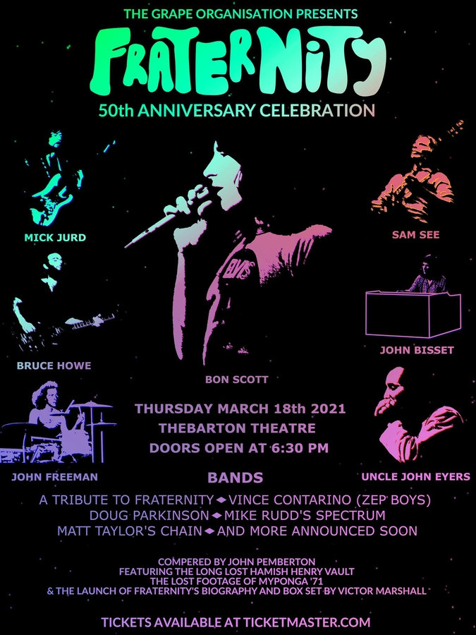 Fraternity 50th Anniversary Poster