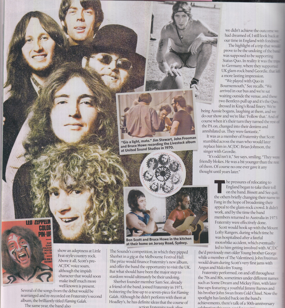 Classic Rock #285 - Fraternity Feature