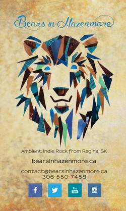 Bears in Hazenmore Business Card