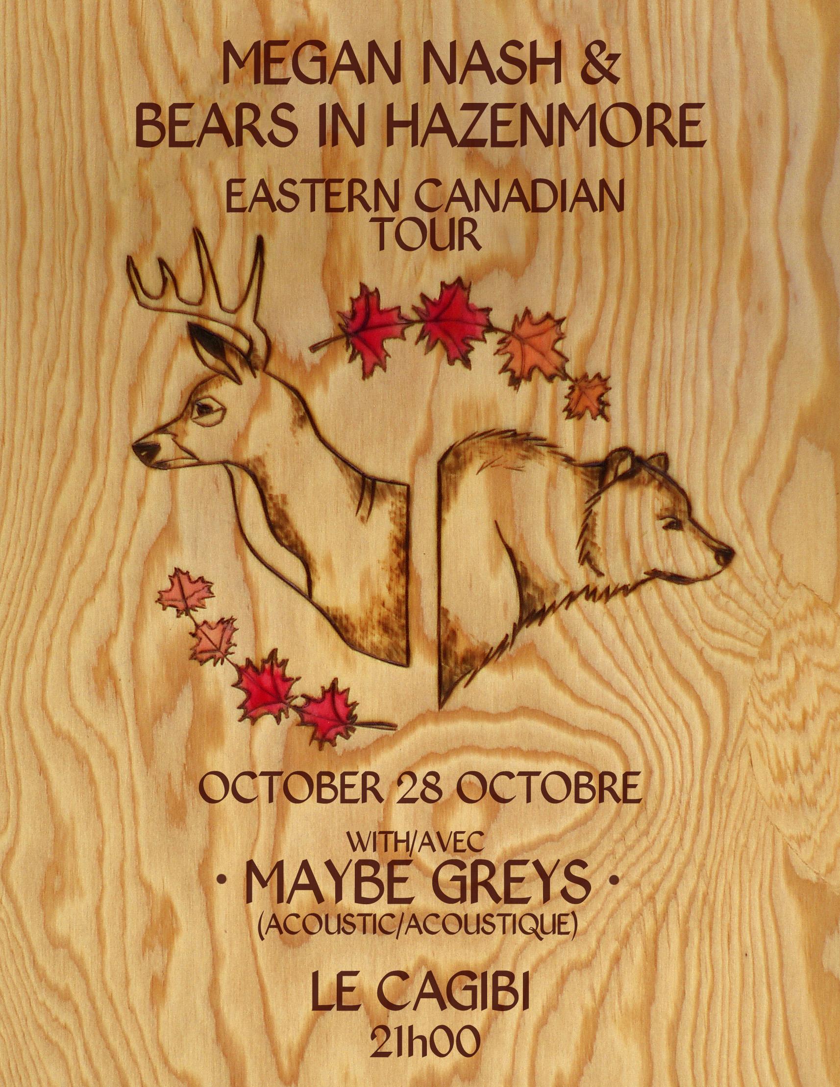 BiH/Nash Montreal Poster Oct 2016