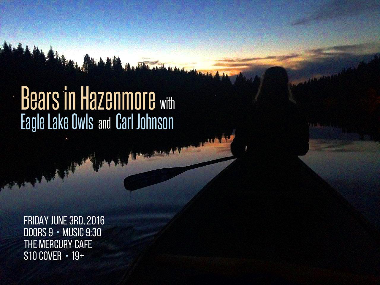 Bears in Hazenmore Poster, Jun 2016
