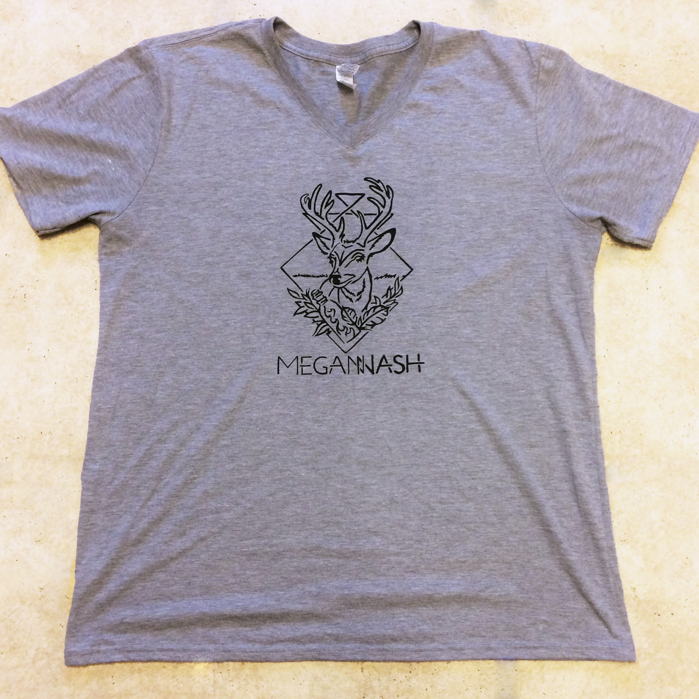 Megan Nash Deer Head Shirt