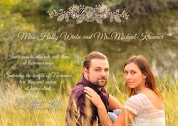 Kraemer Wedding Invitation