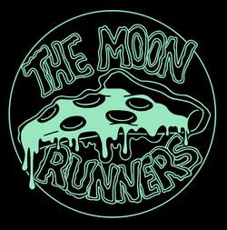 Moon Runners Pizza Shirt Design