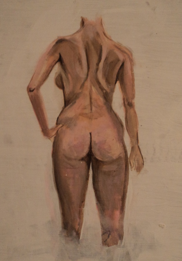 Figure Study from Behind