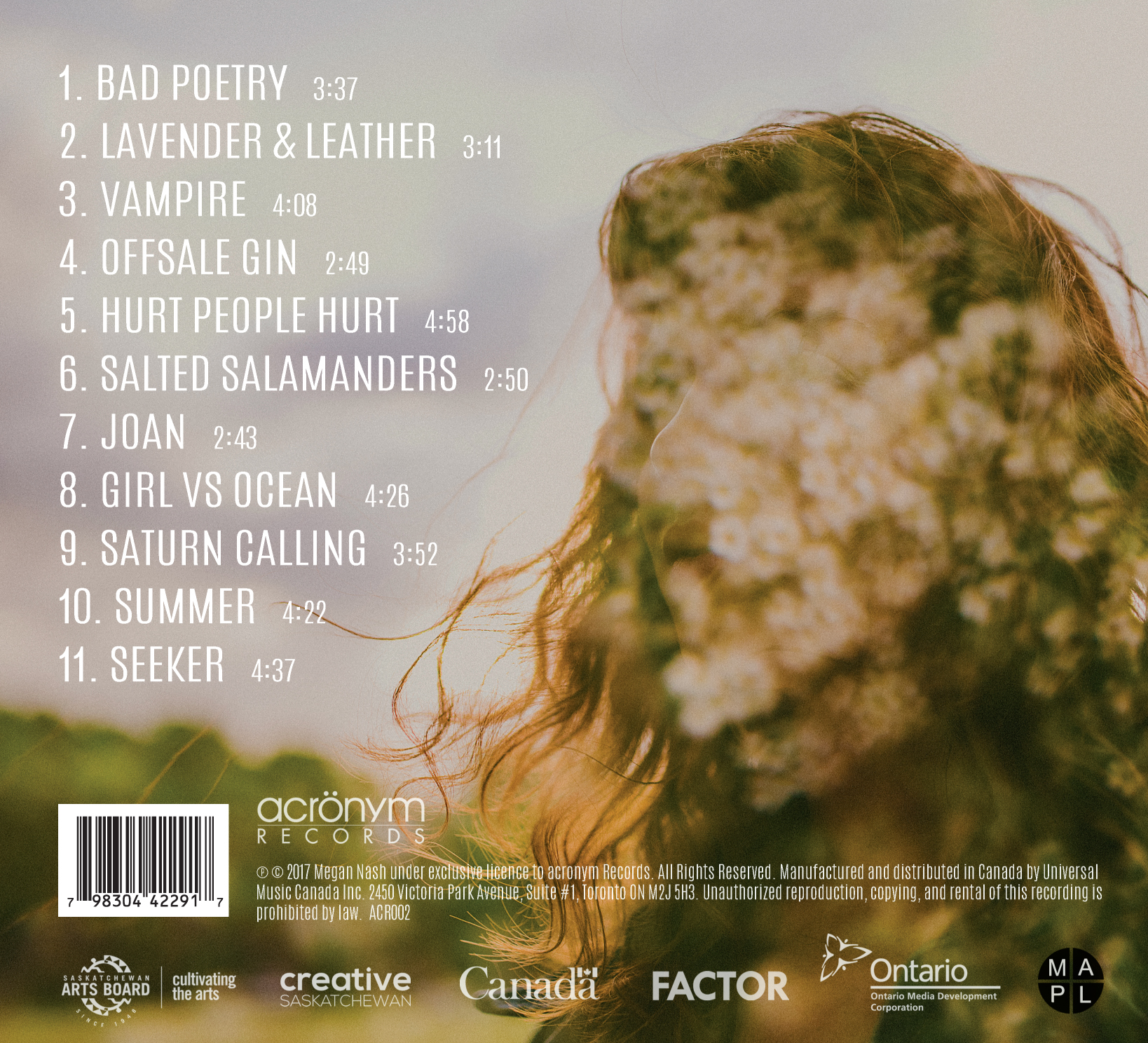 Seeker Back Cover