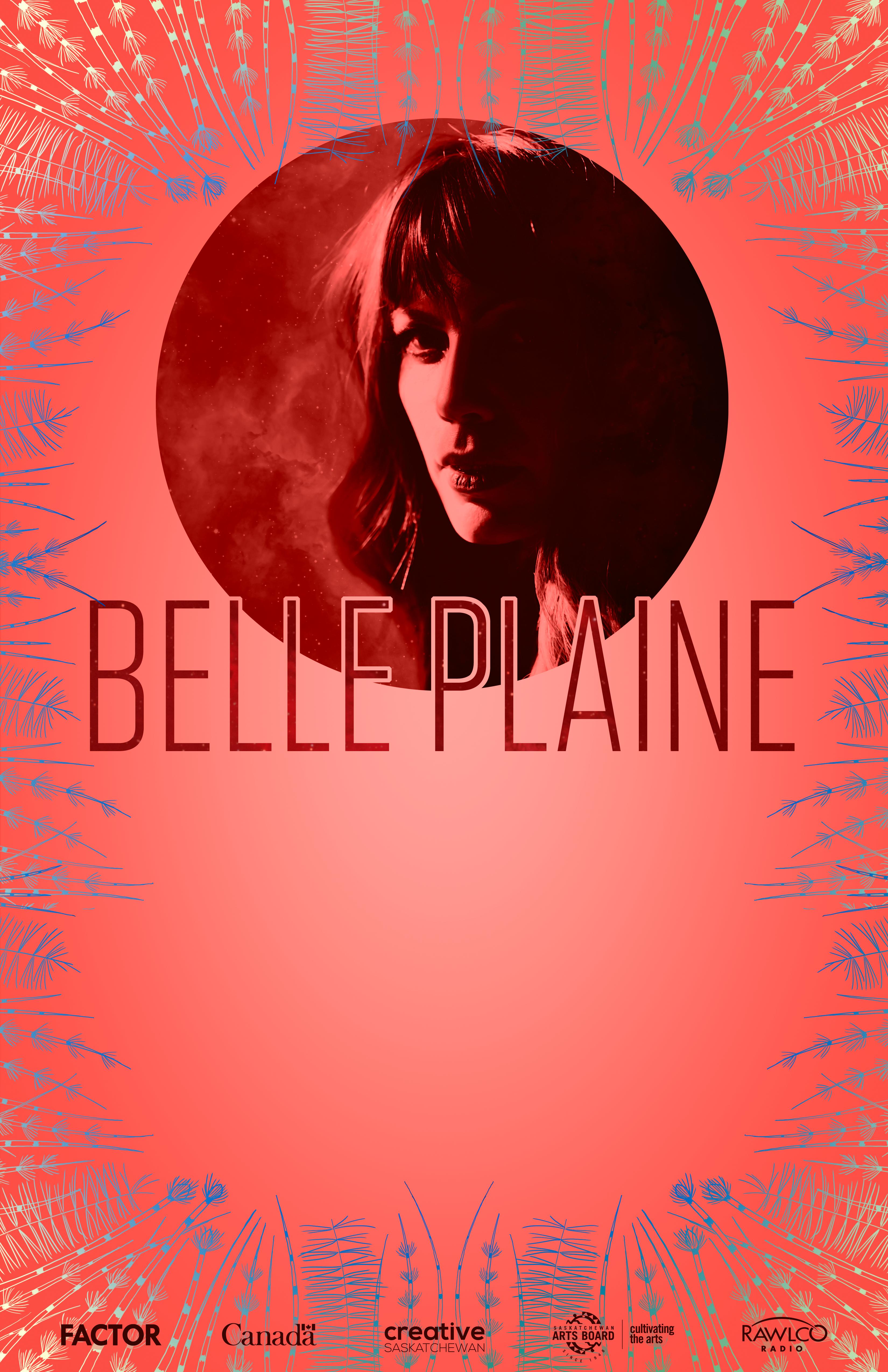 Belle Plaine Blank Poster