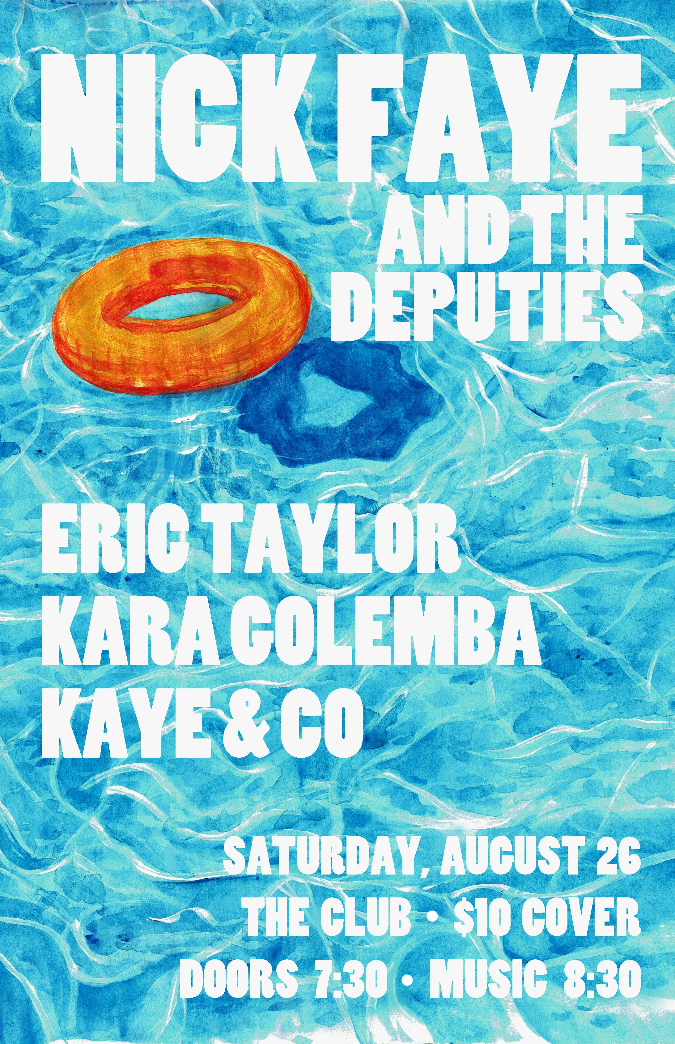 Nick Faye Poster Aug 26