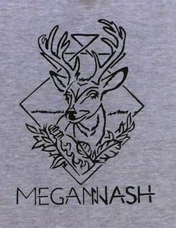 Deer Head Shirt Detail