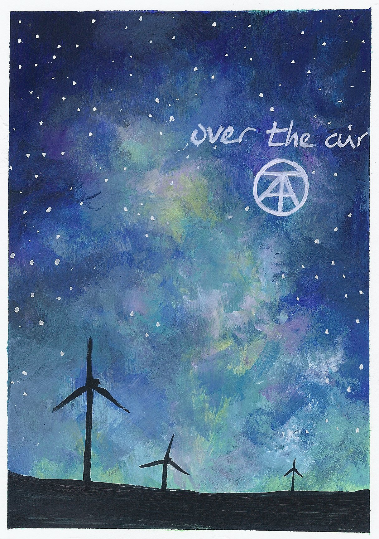 Over the Air Postcard