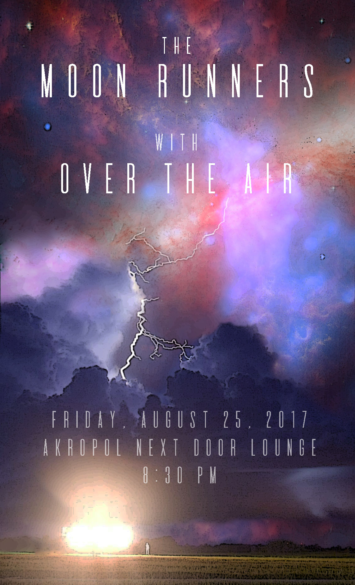 Moon Runners & OTA Poster, Aug 25