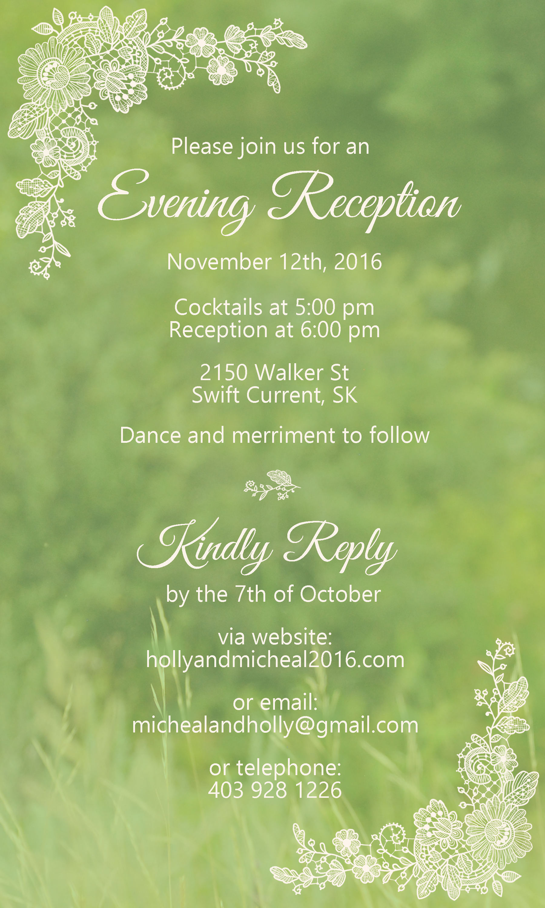 Kraemer Wedding Invitation II
