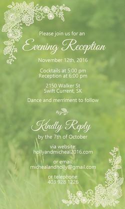Kraemer Wedding Invitation II