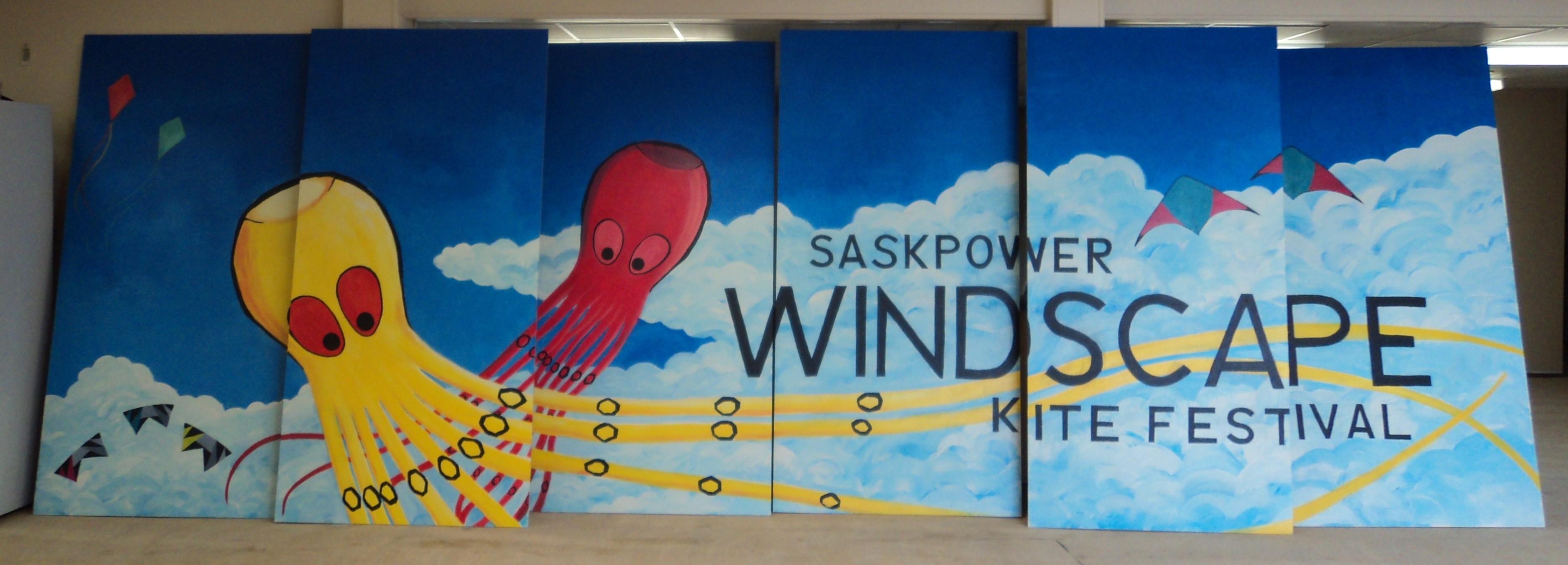 Windscape Kite Festival Mural