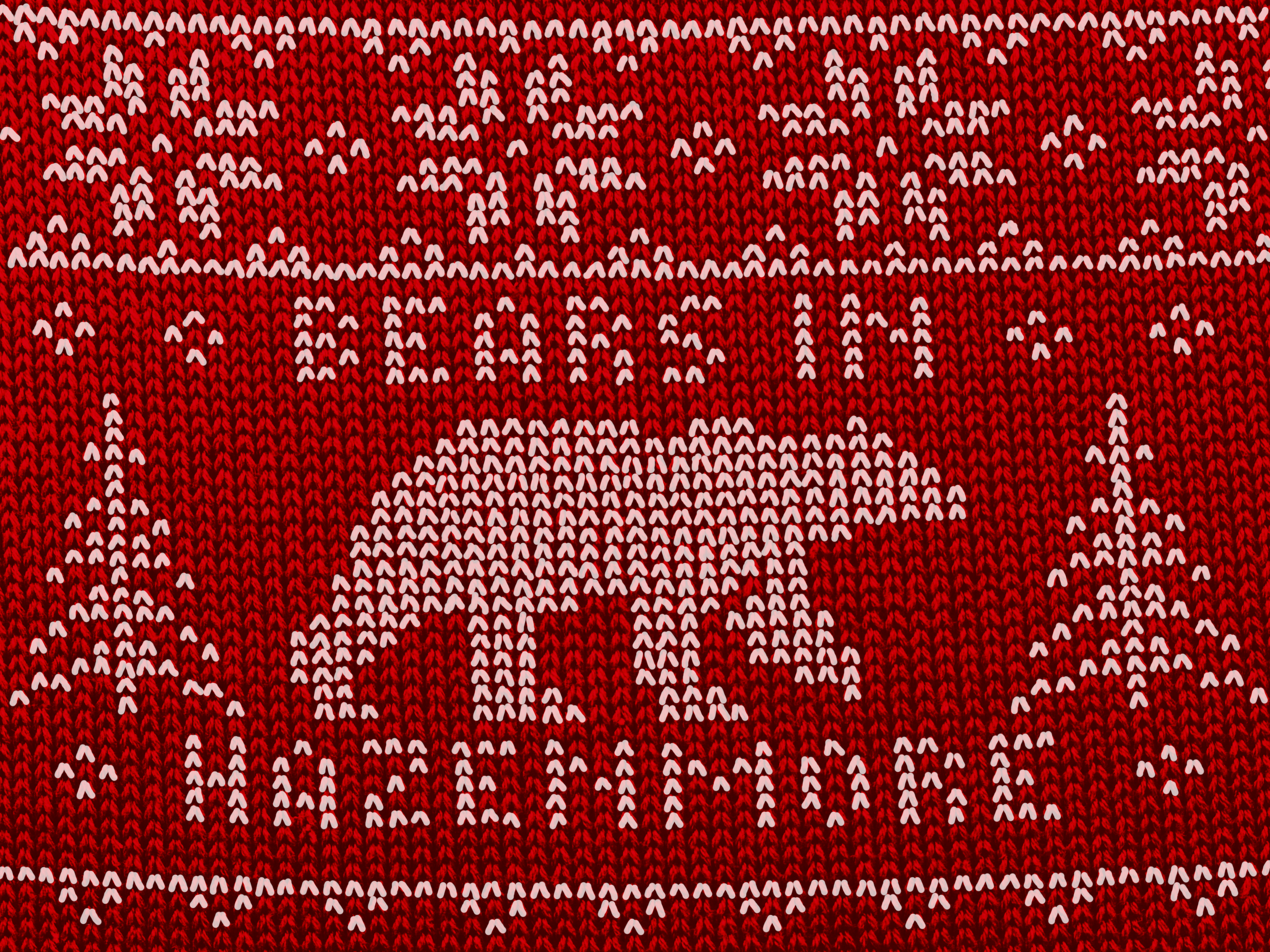 Bears Christmas Sticker