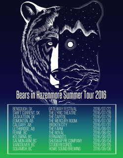 BiH 2016 Summer Tour Poster