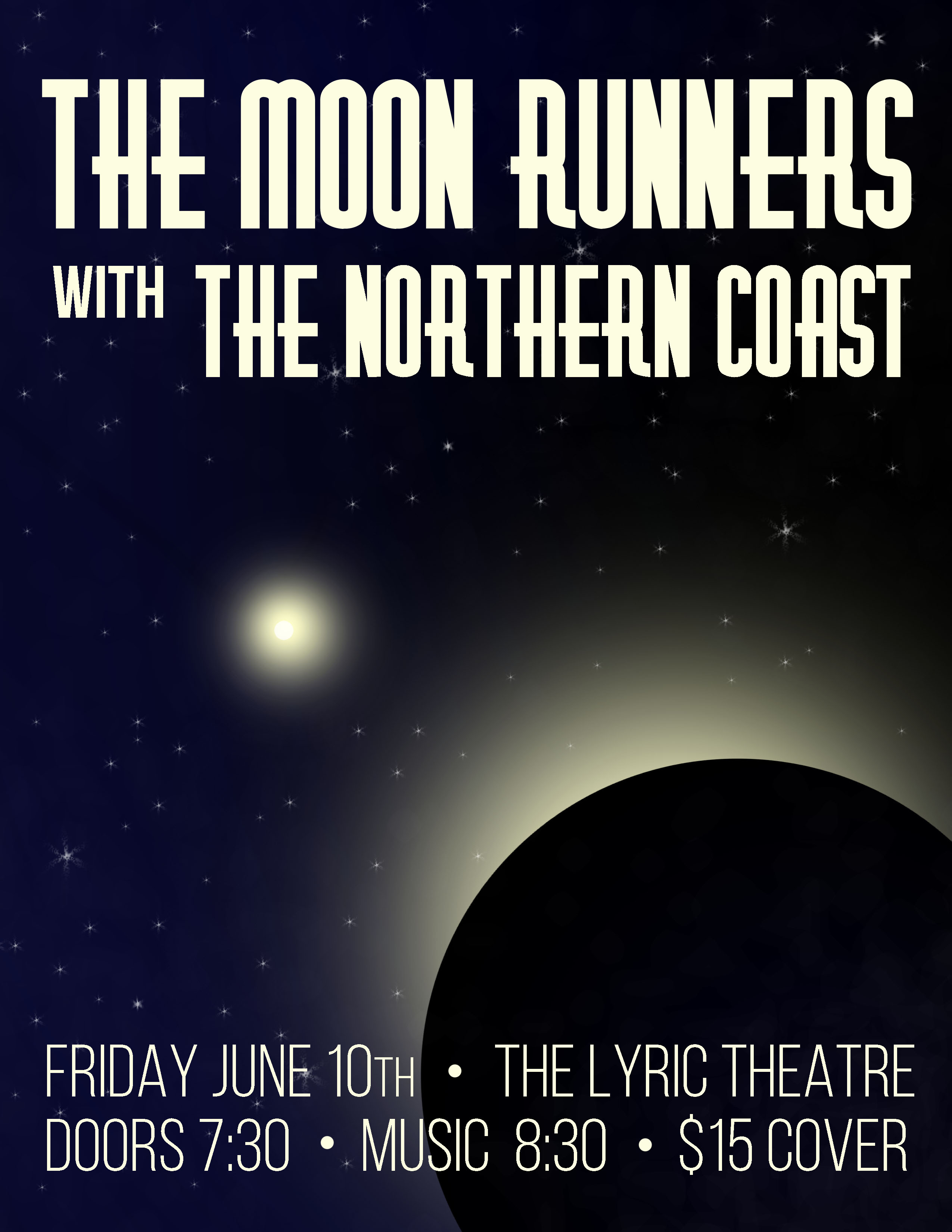 Moon Runners Poster, Jun 2016