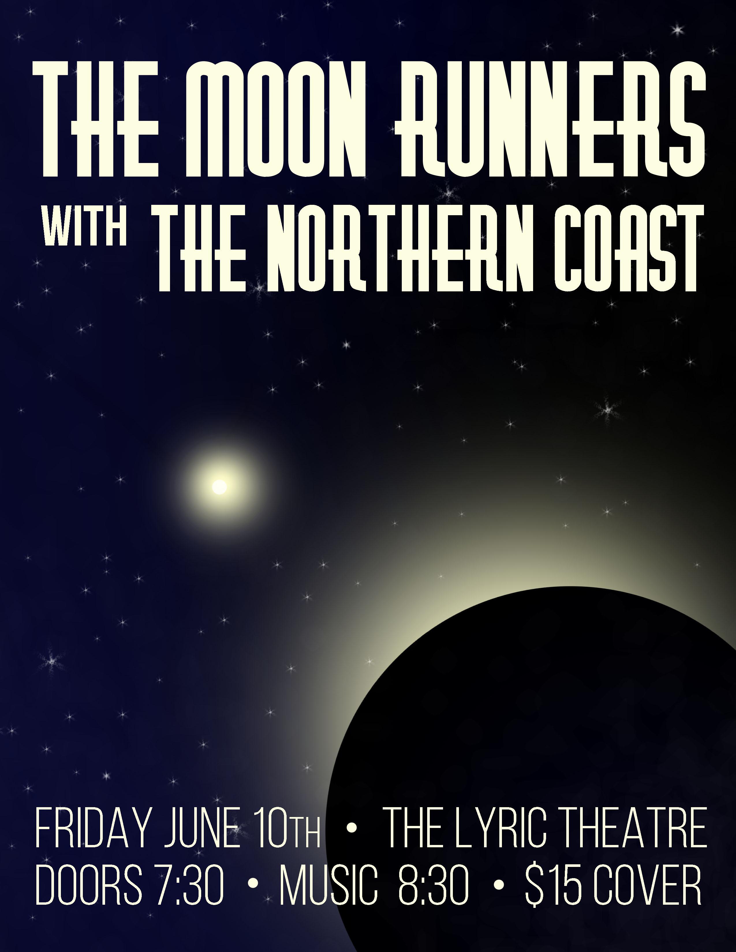 Moon Runners Poster, Jun 2016