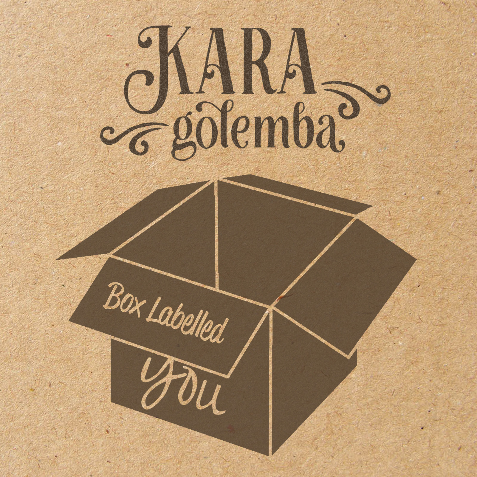 """Box Labelled You"" Single Artwork"