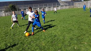 Football Training with Woolacombe School
