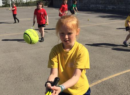 Developing Tennis Skills