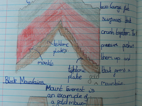 Year 4 Learn about Mountains, Earthquakes and Volcanoes