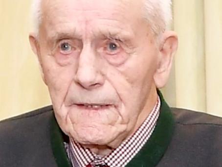 Josef Mayr aus Haibach im Mühlkreis (1919 - 2020): Lebenslange Energie aus dem Schützengraben