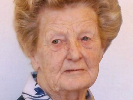 """Margaretha Ludwiczek aus Weitersfelden (1923 - 2020): """"Essen auf Rädern mit dem Schlitten"""""""