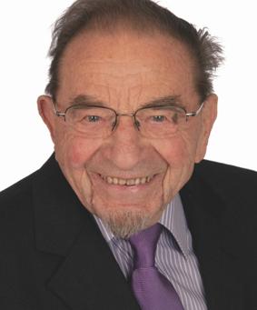 Prof. Ludwig Rosensteiner (1915 - 2018): Geistig rege bis 103!