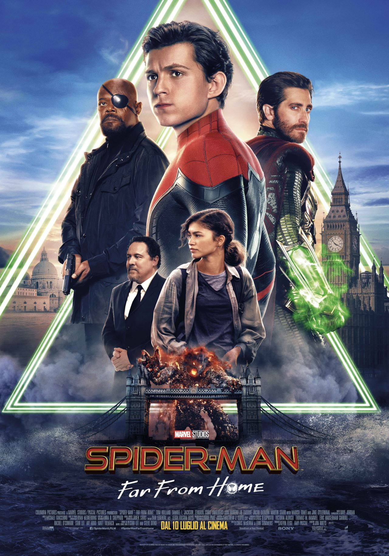 SPIDER-MANFAR FROM HOME