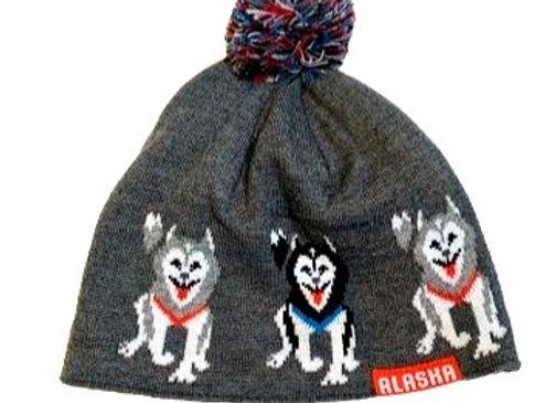 Husky Row Knit Hat