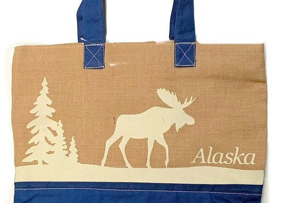 Lodge Moose Tote Bag