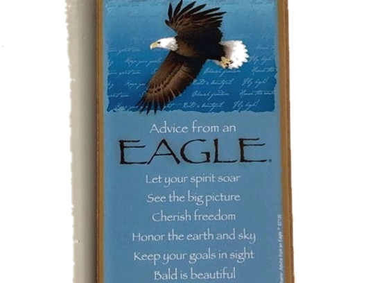 Advice from an Eagle Sign